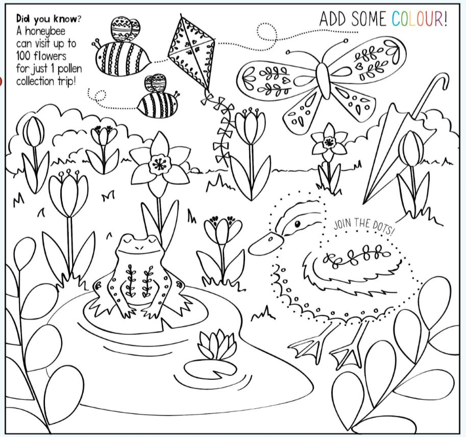 Downloadable Colouring Sheets Ryedale Mumbler